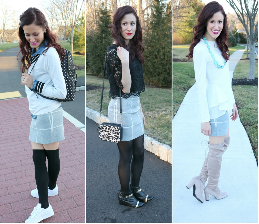 1 Thing, 3 Ways - Outfit Inspiration on Coming Up Roses