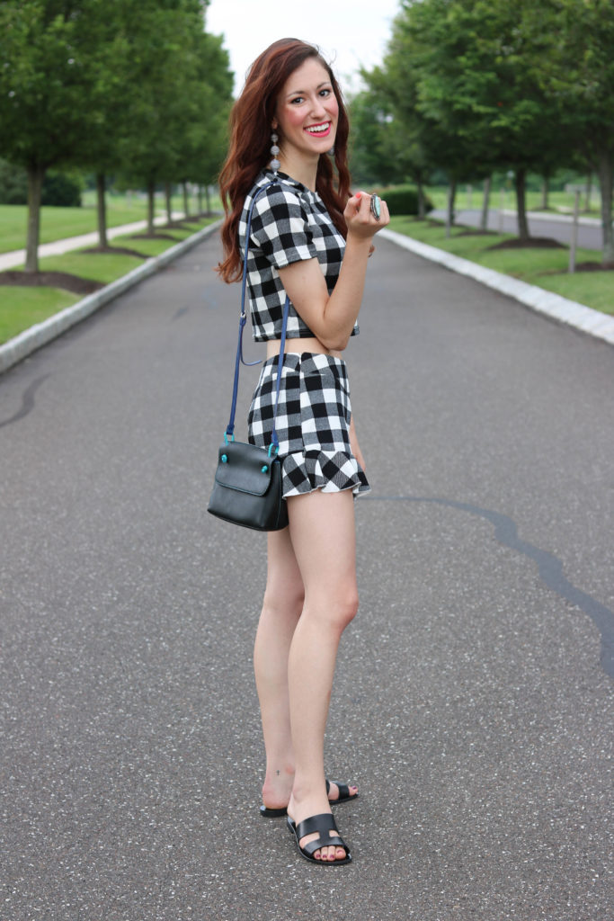 1 Thing, 3 Ways: Black and White Gingham