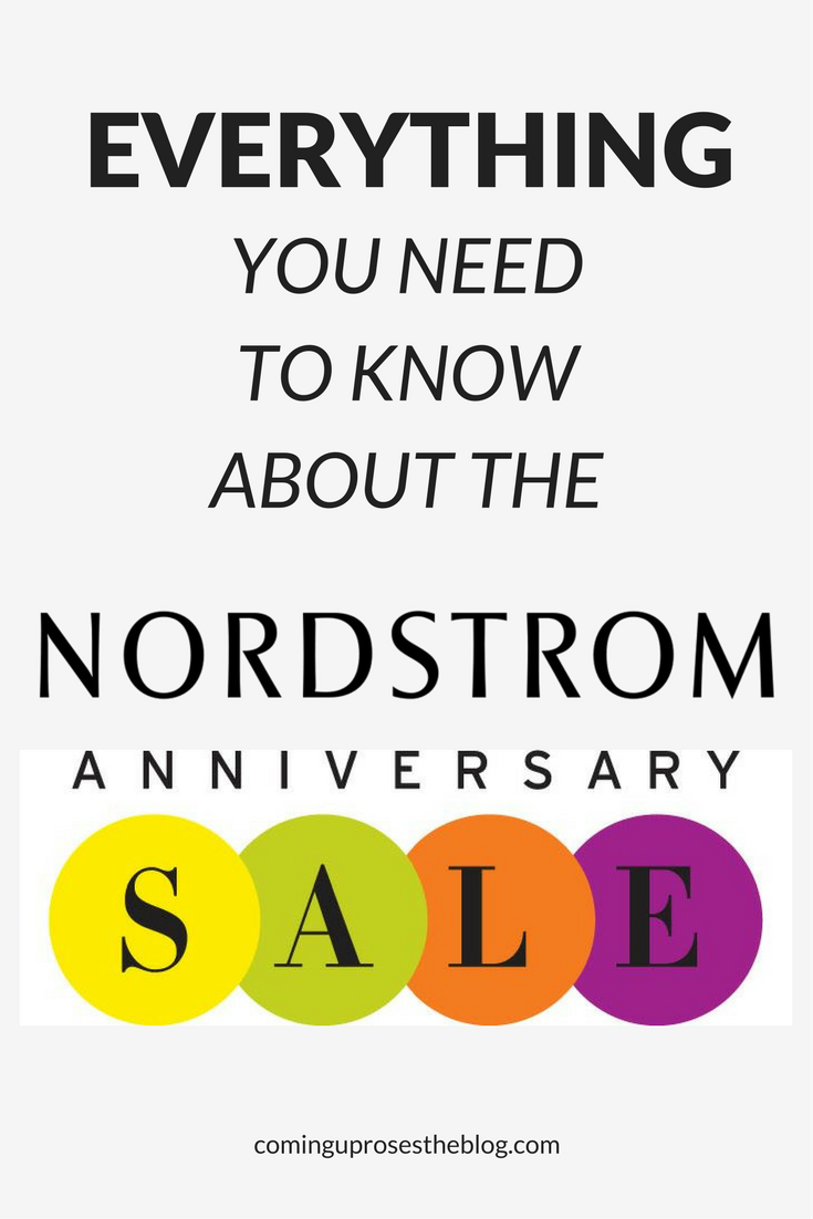 Everything you need to know about the Nordstrom Anniversary Sale featured by popular Philadelphia fashion blogger, Coming Up Roses