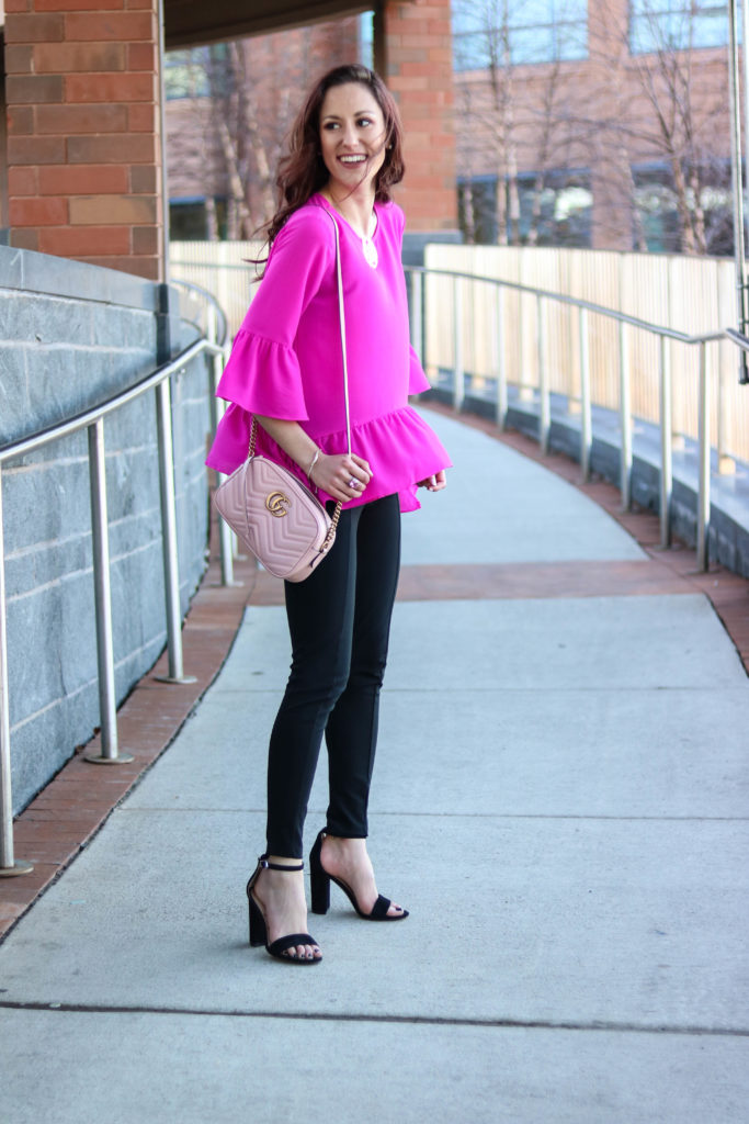1 Thing, 3 Ways: Ponte Pants by popular Philadelphia fashion blogger Coming Up Roses