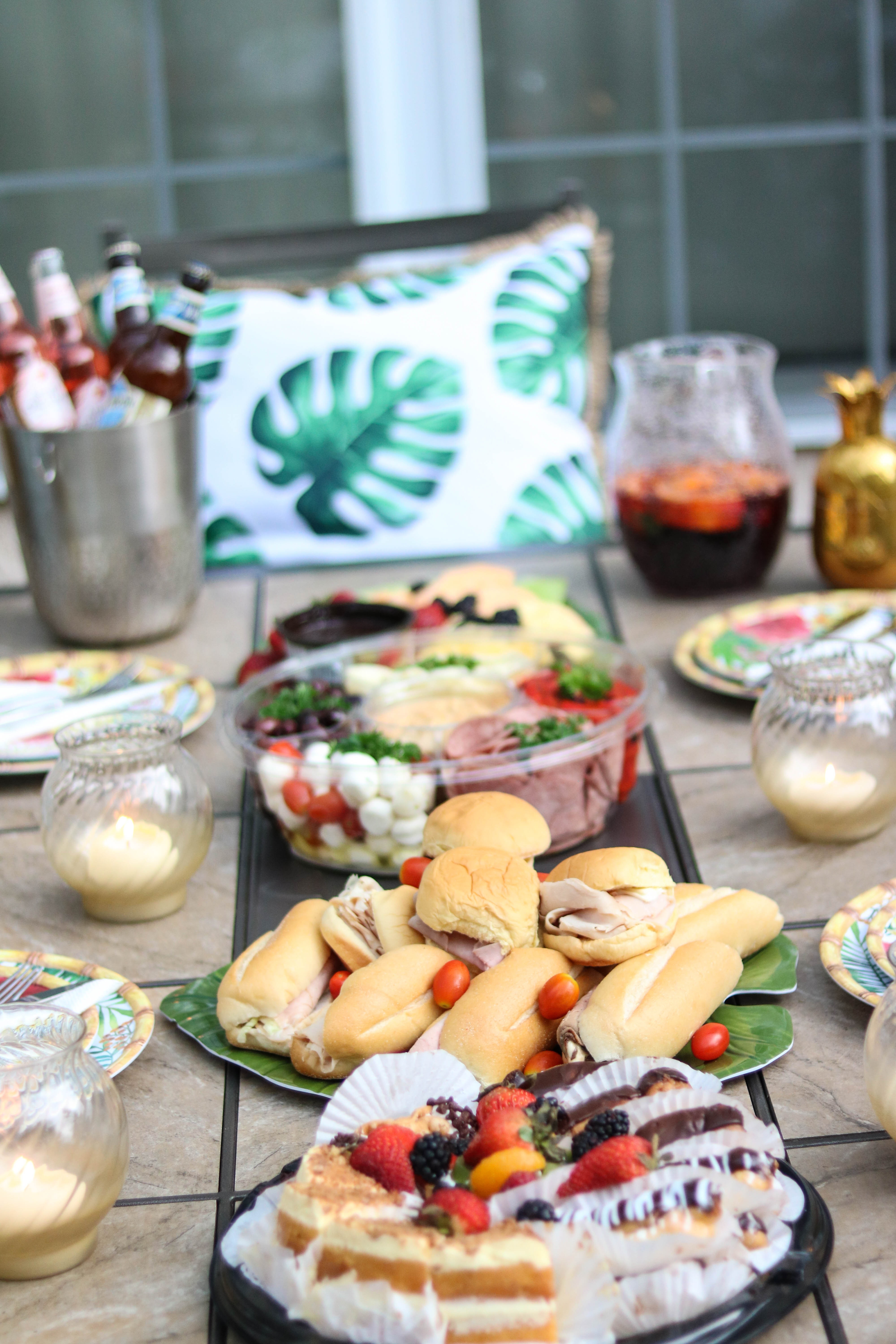 Summer Party Planning 101: Helpful Tips for Before, During, & After your Party, with the Fresh Grocer