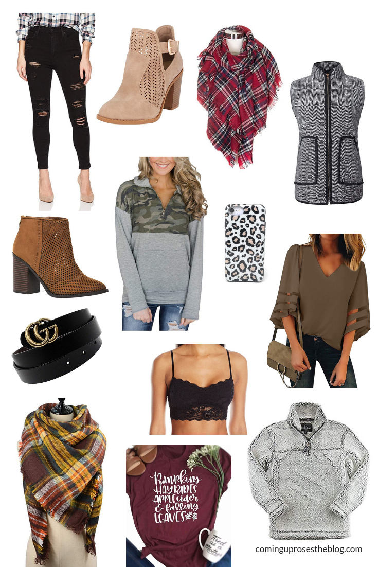 15 Fall Amazon Fashion Finds UNDER $40 - From the coziest pullovers to the cutest booties, here are 15 of the best Amazon Fashion Finds that are all UNDER $40!
