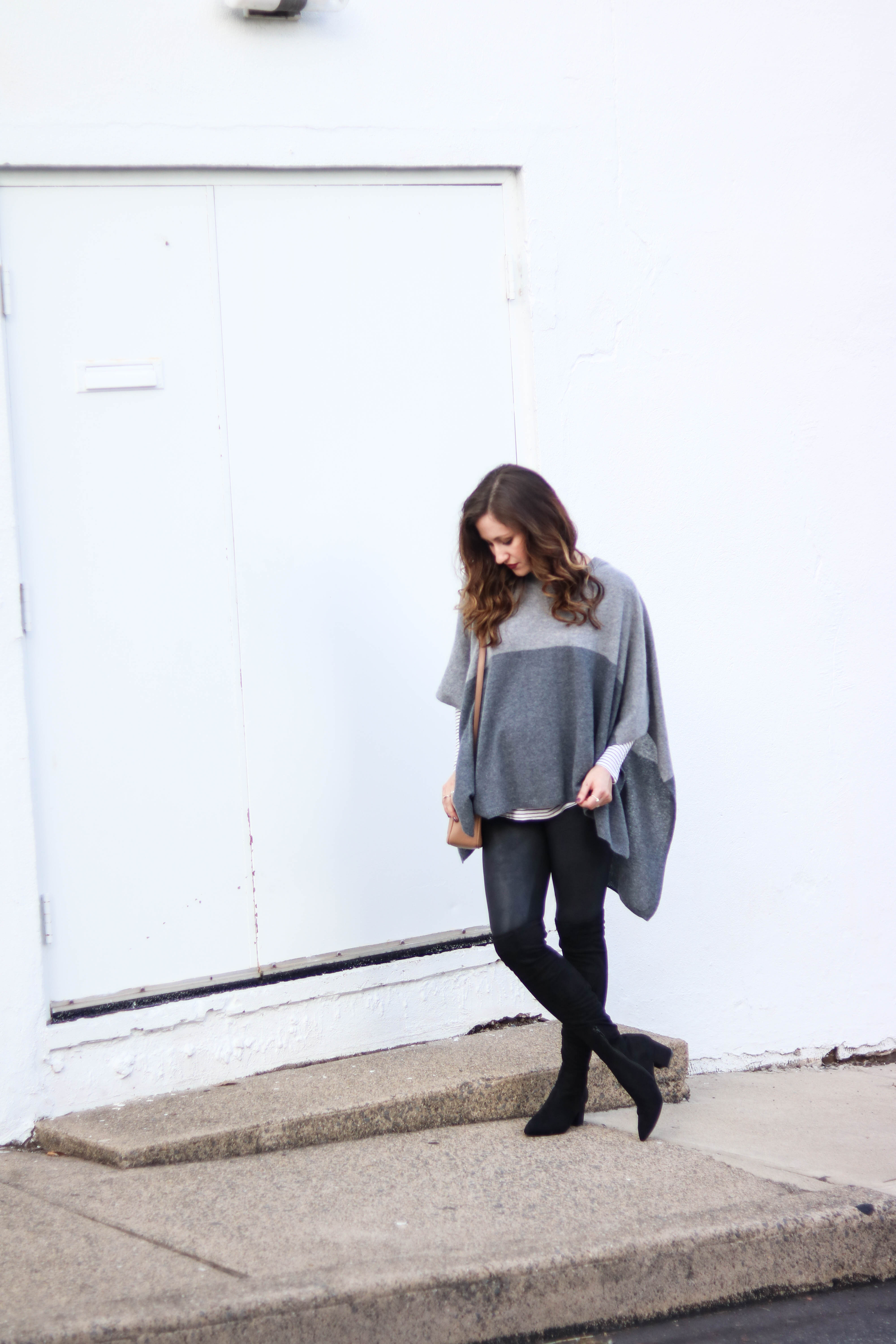Leather Leggings Lookbook: 6 Ways to Style Leather Leggings, on Coming Up Roses
