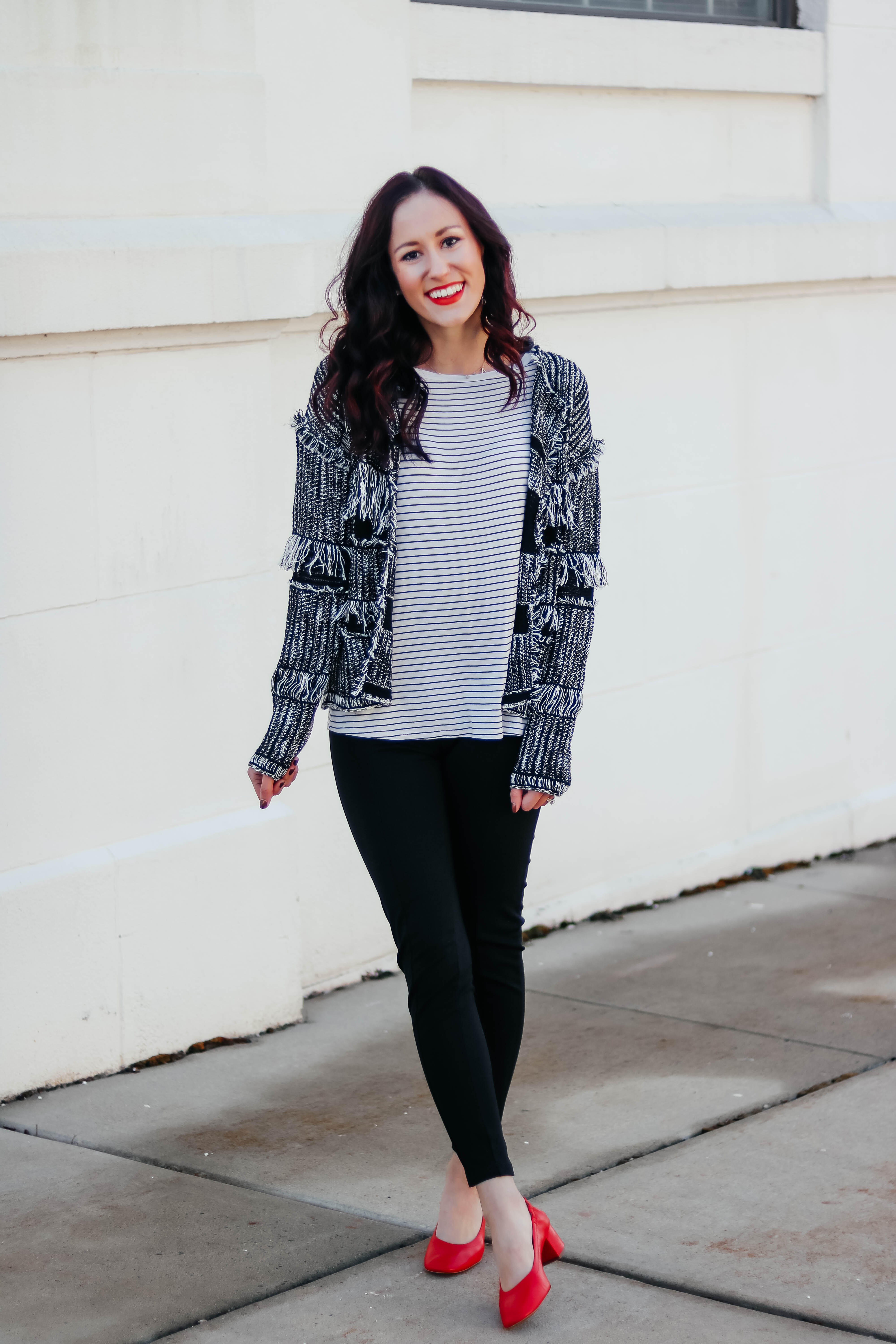 1 Thing, 3 Ways: LONG-SLEEVE STRIPED TEE