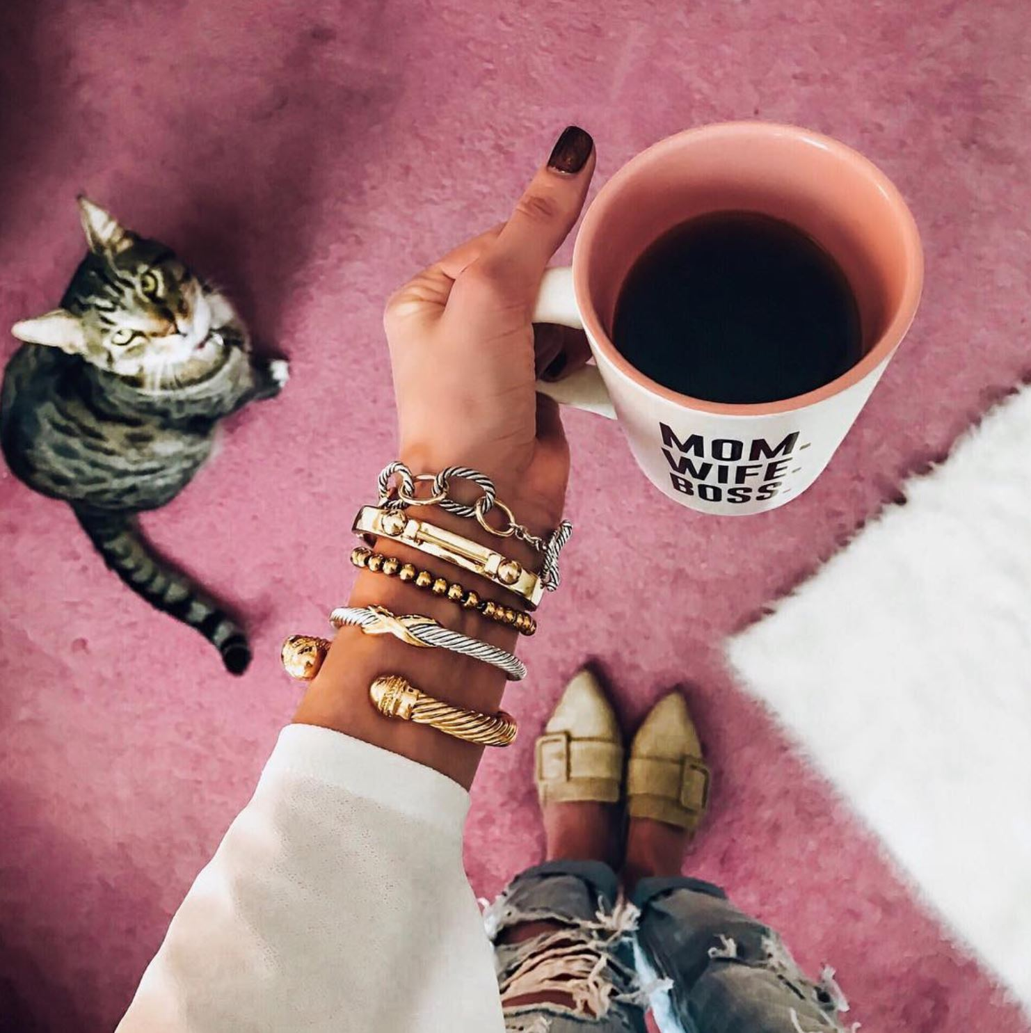 INSTAGRAM LATELY on Coming Up Roses - affordable arm candy, bracelet stack