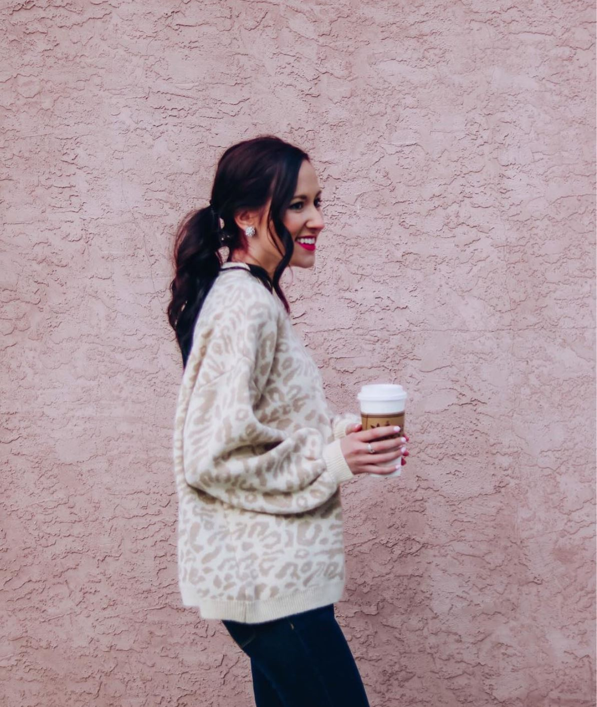 INSTAGRAM LATELY on Coming Up Roses - leopard print sweater