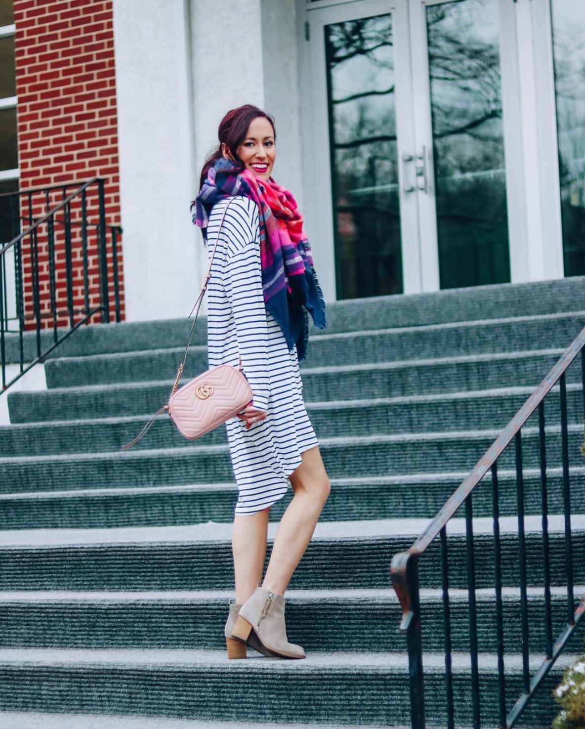 INSTAGRAM LATELY on Coming Up Roses - striped amazon dress