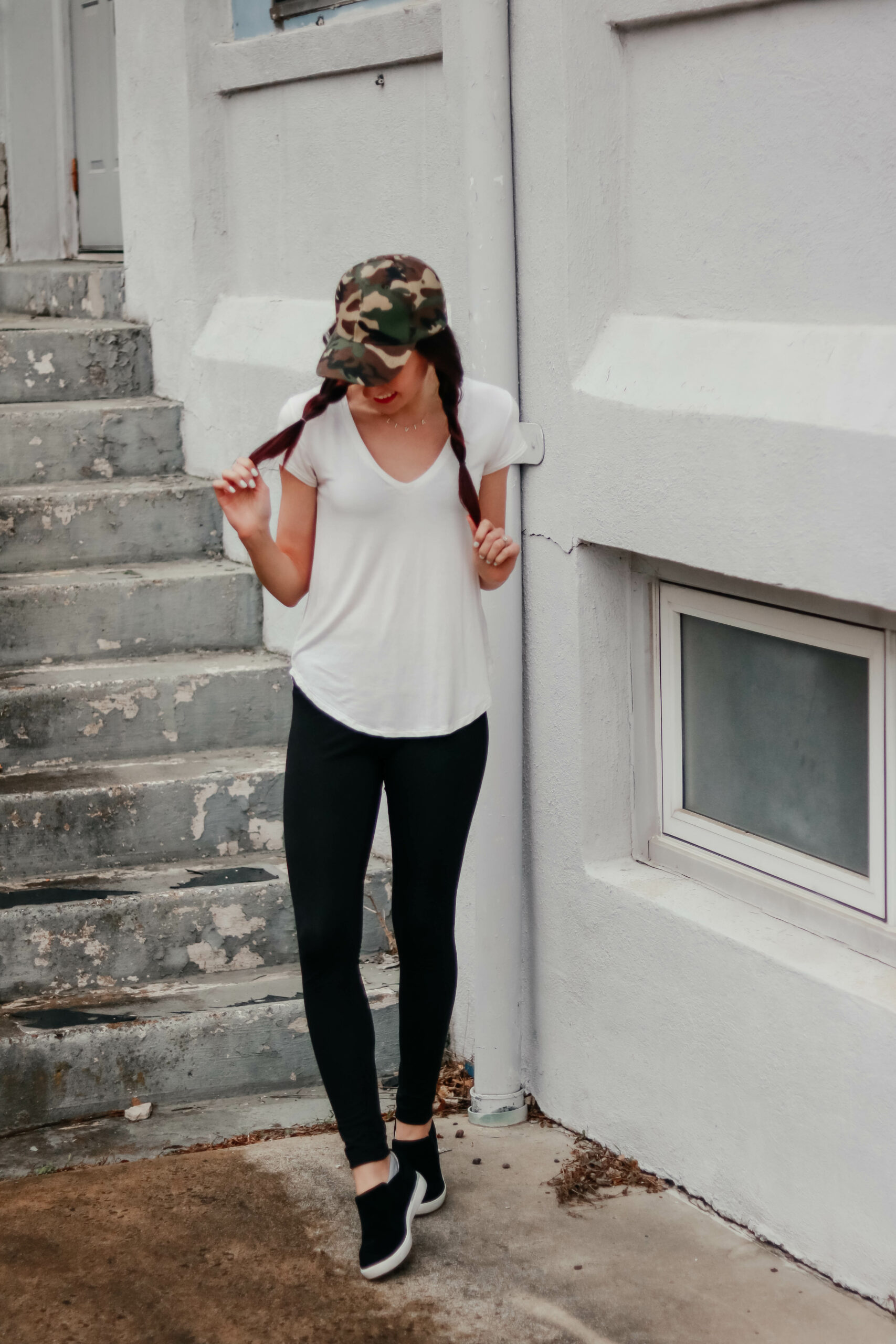 $25 Lululemon Dupes (and they're on Amazon!) - Best black leggings on Coming Up Roses