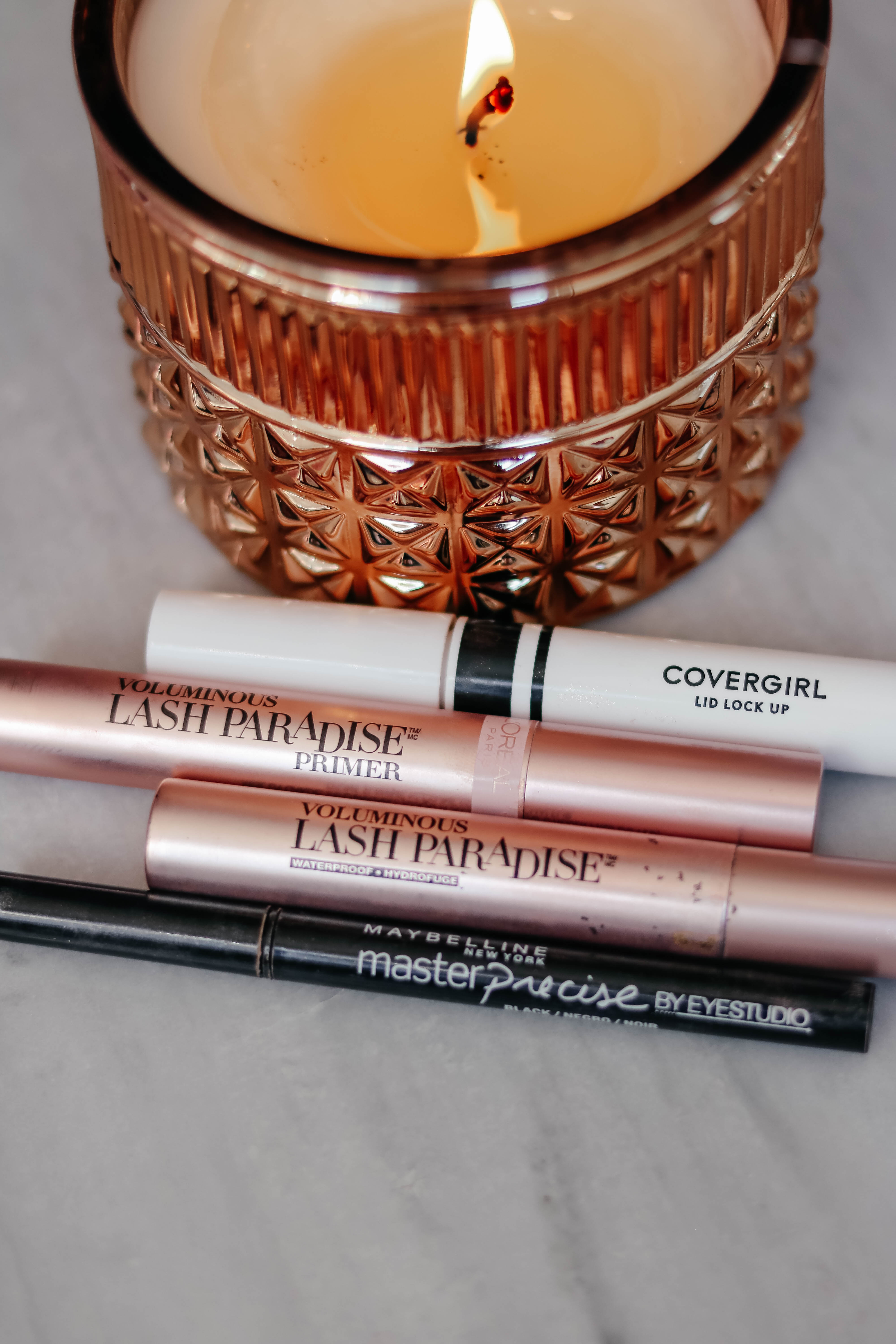 best drugstore mascara, lash primer on Coming Up Roses - L'Oreal Lash Paradise, Covergirl ,Maybelline