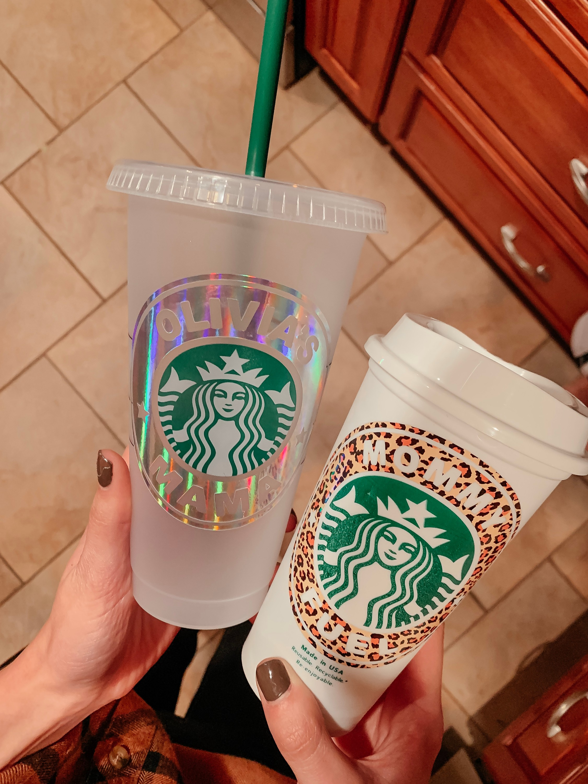 Reusable Personalized Starbucks Cups -Cool Sh*t I Lovelovelove, Monthly Favorites on Coming Up Roses