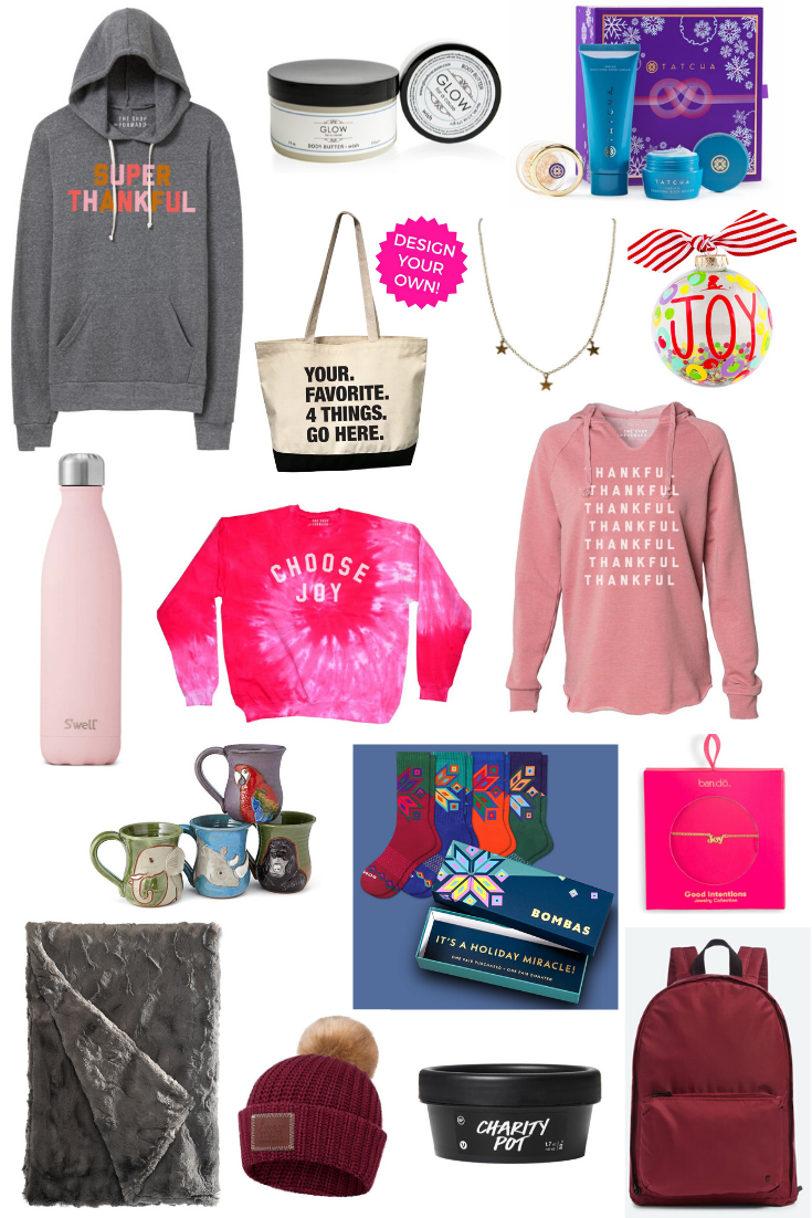 Gift Guide: GIFTS THAT GIVE BACK - on Coming Up Roses