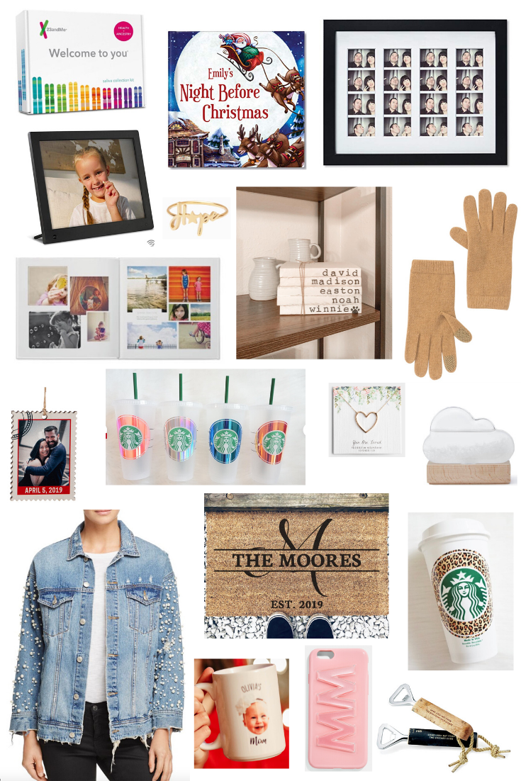 Unique Gift Ideas + Personalized Gift Ideas that won't break the bank on Coming Up Roses!