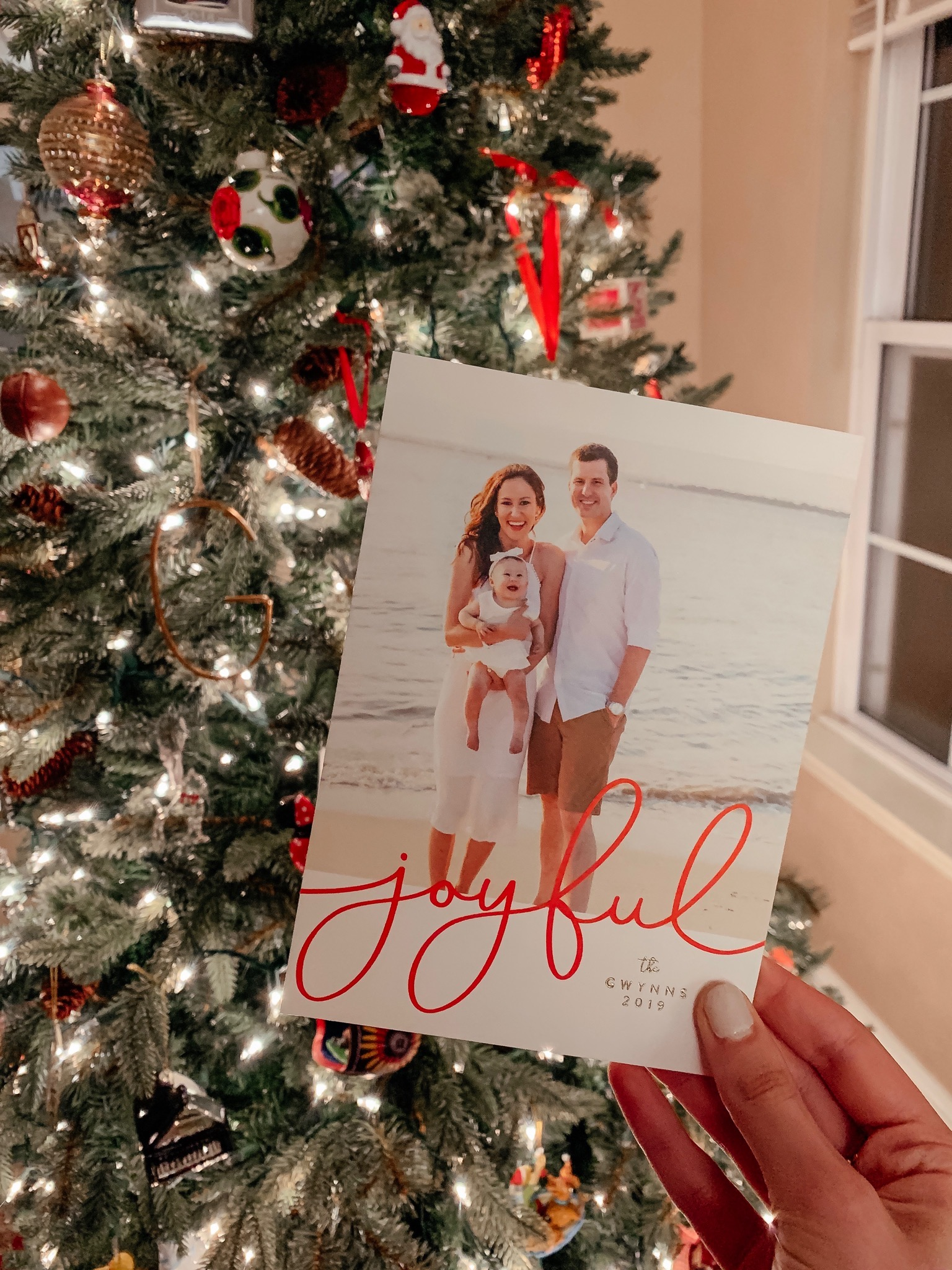 Our 2019 Christmas Card with Minted - on Coming Up Roses
