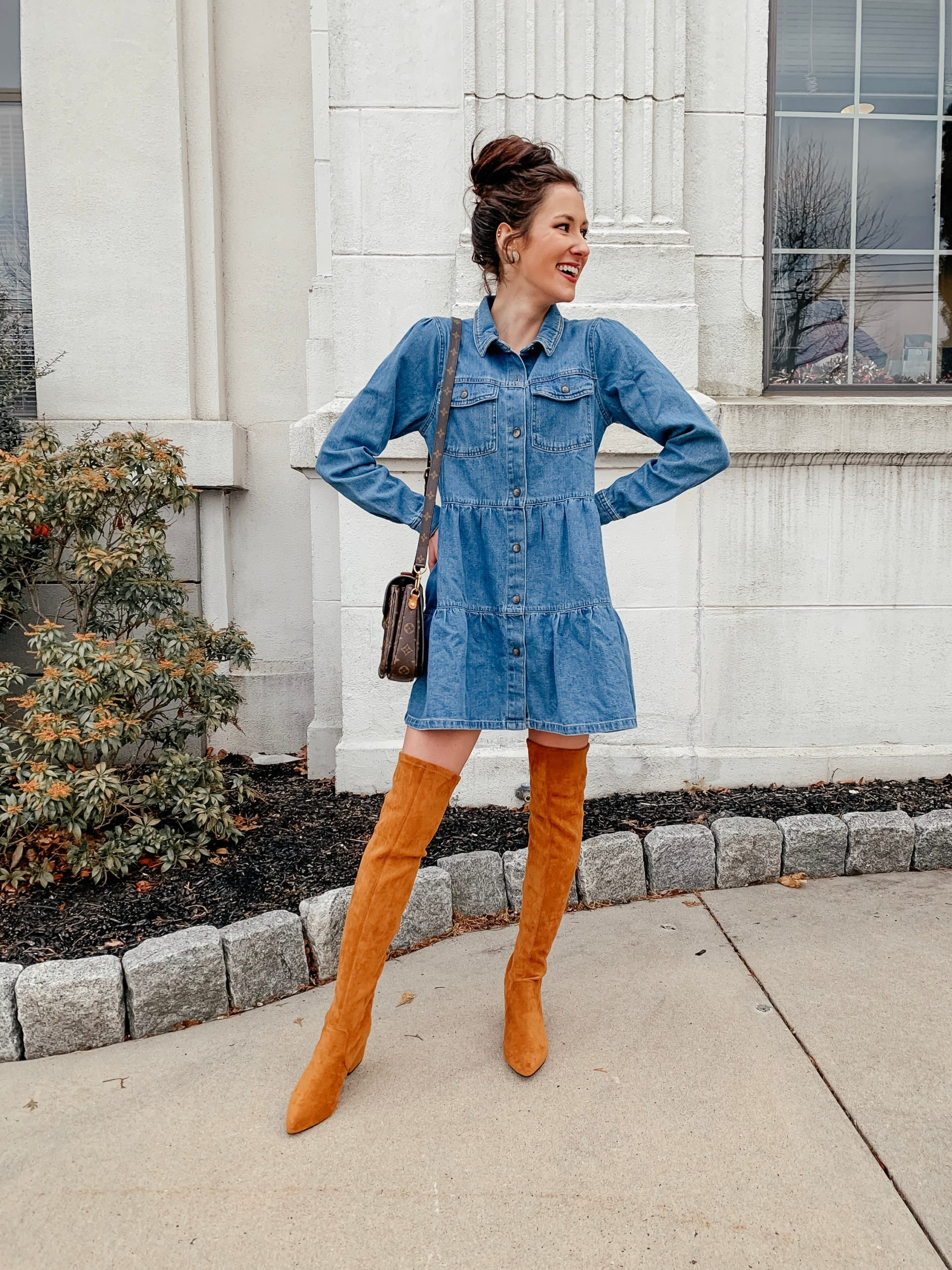 DUPED: Goodnight Macaroon Over-the-Knee boots and their best DUPES from Amazon - for $100 less! On Coming Up Roses