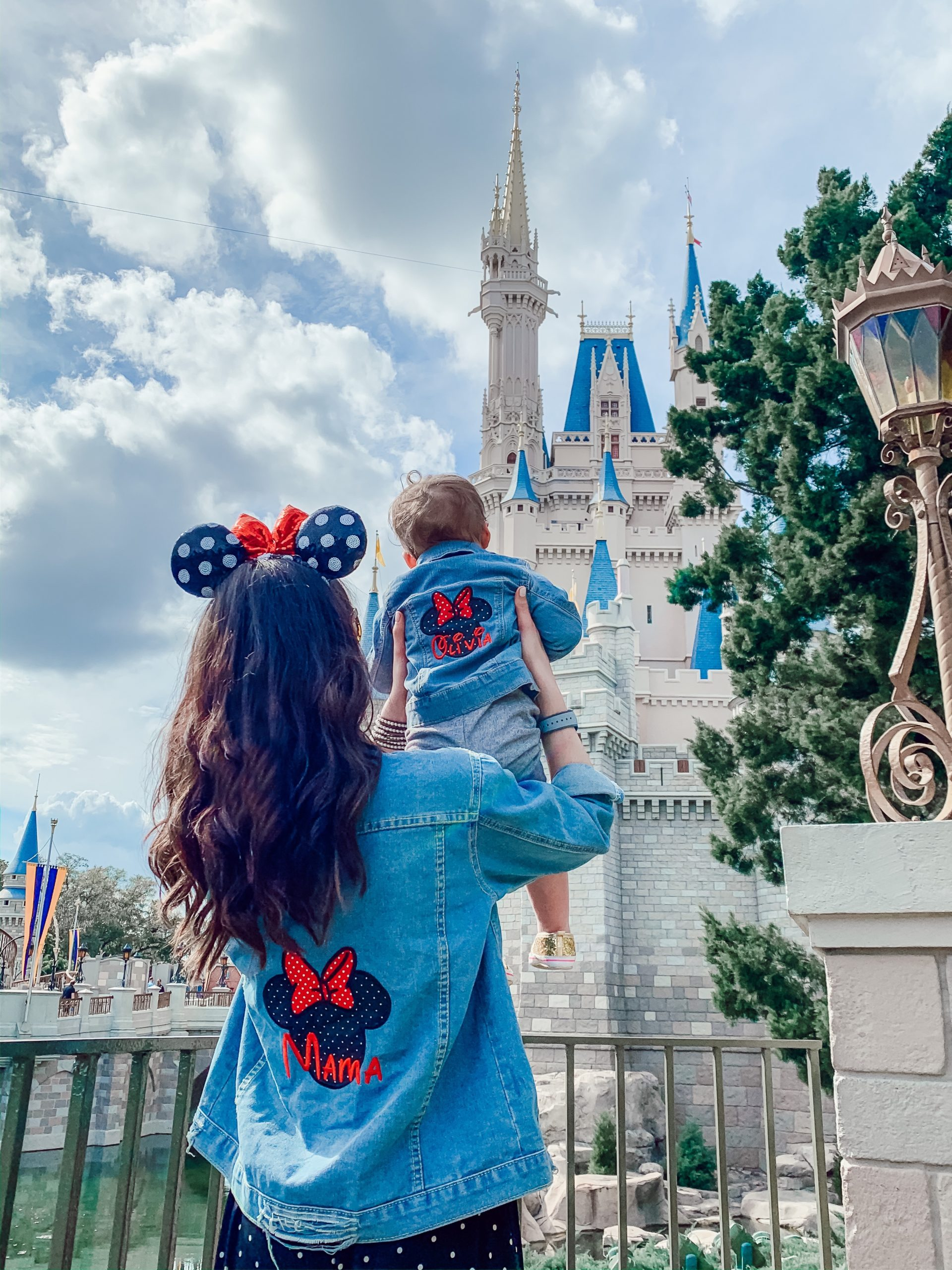 A Full Recap of #DisneyCreatorDays - 7 Days at Disney World and on a Disney Cruise! - Mommy and me matching Disney outfit